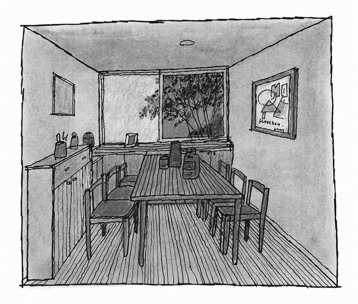 餐廳-透視圖 圖片提供_漂亮家居麥浩斯
