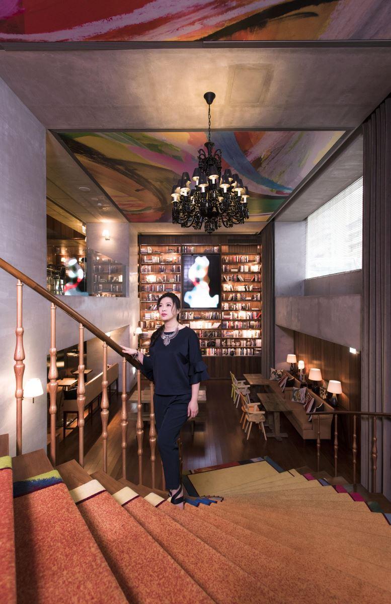 寓䒳設計與設計家,一同拜訪大師 Philippe Starck 操刀設計的 S Hotel。(攝影:沈仲達)