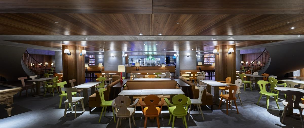 餐廳 HYG 北歐美饌由丹麥米其林二星知名主廚 Nicholas Kirk 與 Mikkel Maabrjerg 聯手打造。(圖片提供:S Hotel)