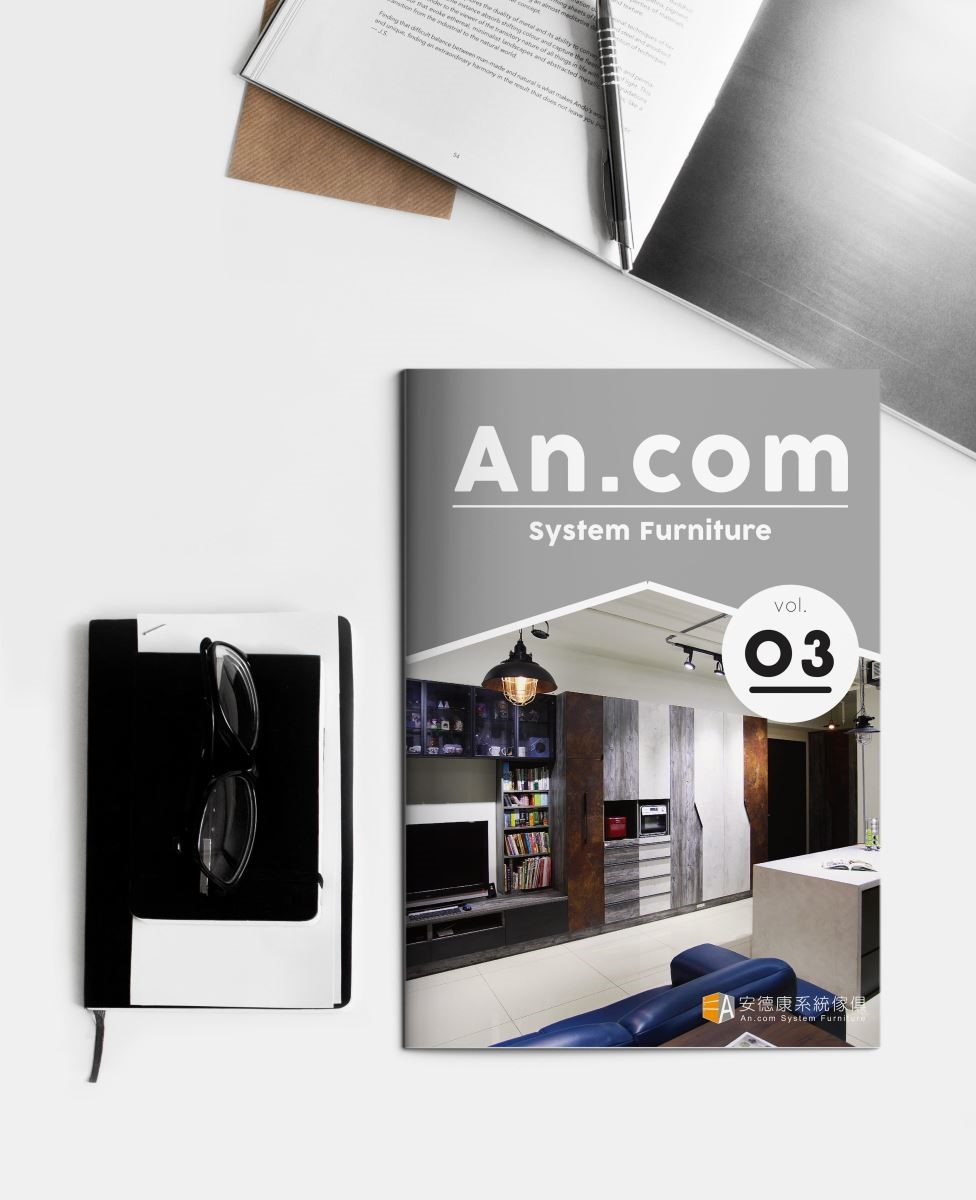 多彩繽紛的封面,頁數不多的輕雜誌,不必花太多時間就能吸收到設計的精華。