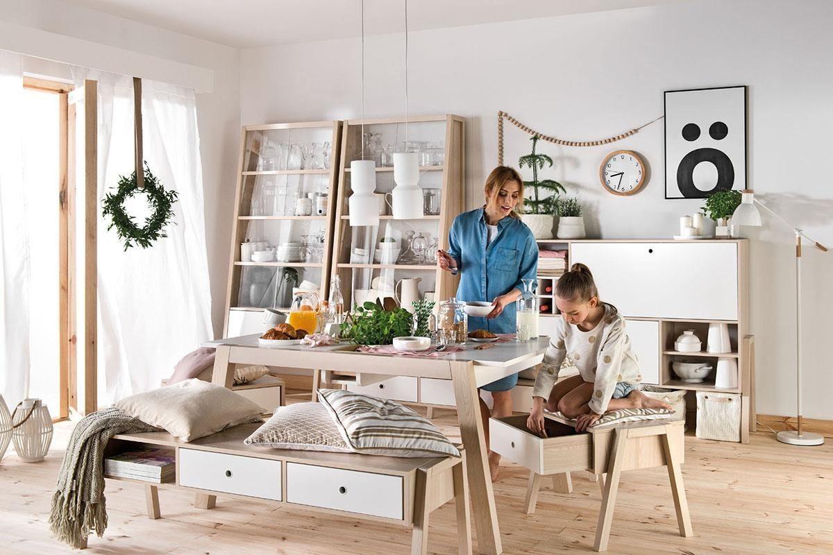 清新又純淨的原木色系,為居家生活引進源源不絕的大自然能量,同時也能舒緩現代人緊張忙碌的身心。