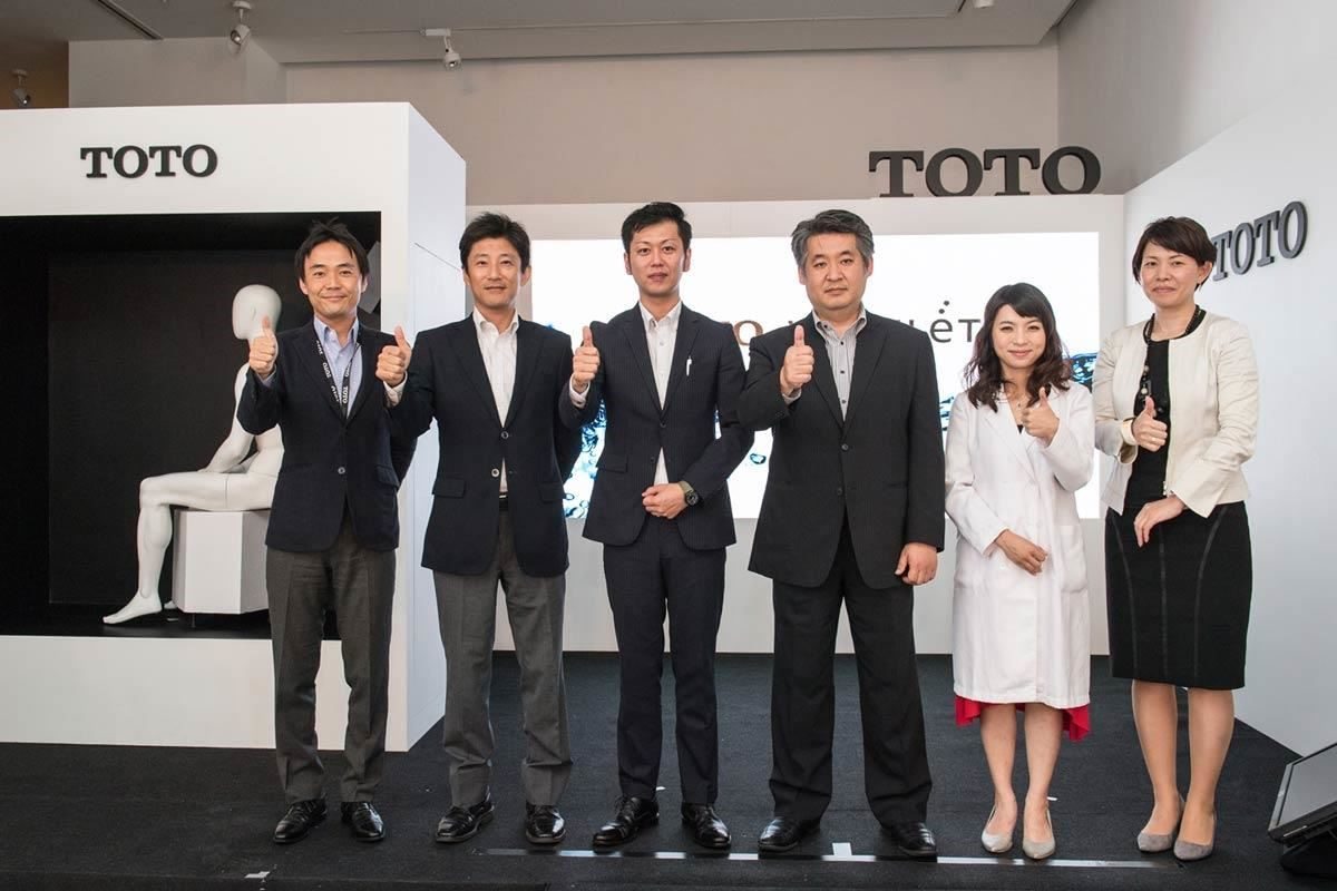 台灣東陶總經理戶田勝也先生表示,TOTO WASHLET 的人性化科技是領先同業的最大關鍵,無論哪個國籍、身在何處,TOTO 都希望以百年以來所堅持不懈的企業理念,為消費者提供更舒適的衛浴生活,用最乾淨的幫你洗乾淨,提供民眾更乾淨、舒適、健康又環保的衛浴生活提案。