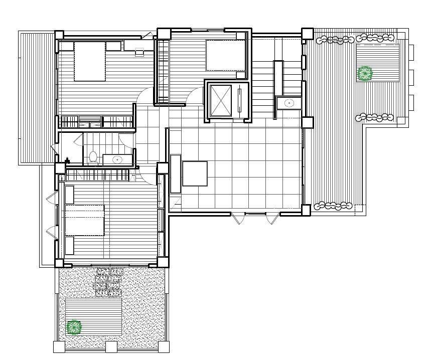 三樓平面圖提供_震騰室內裝修設計。