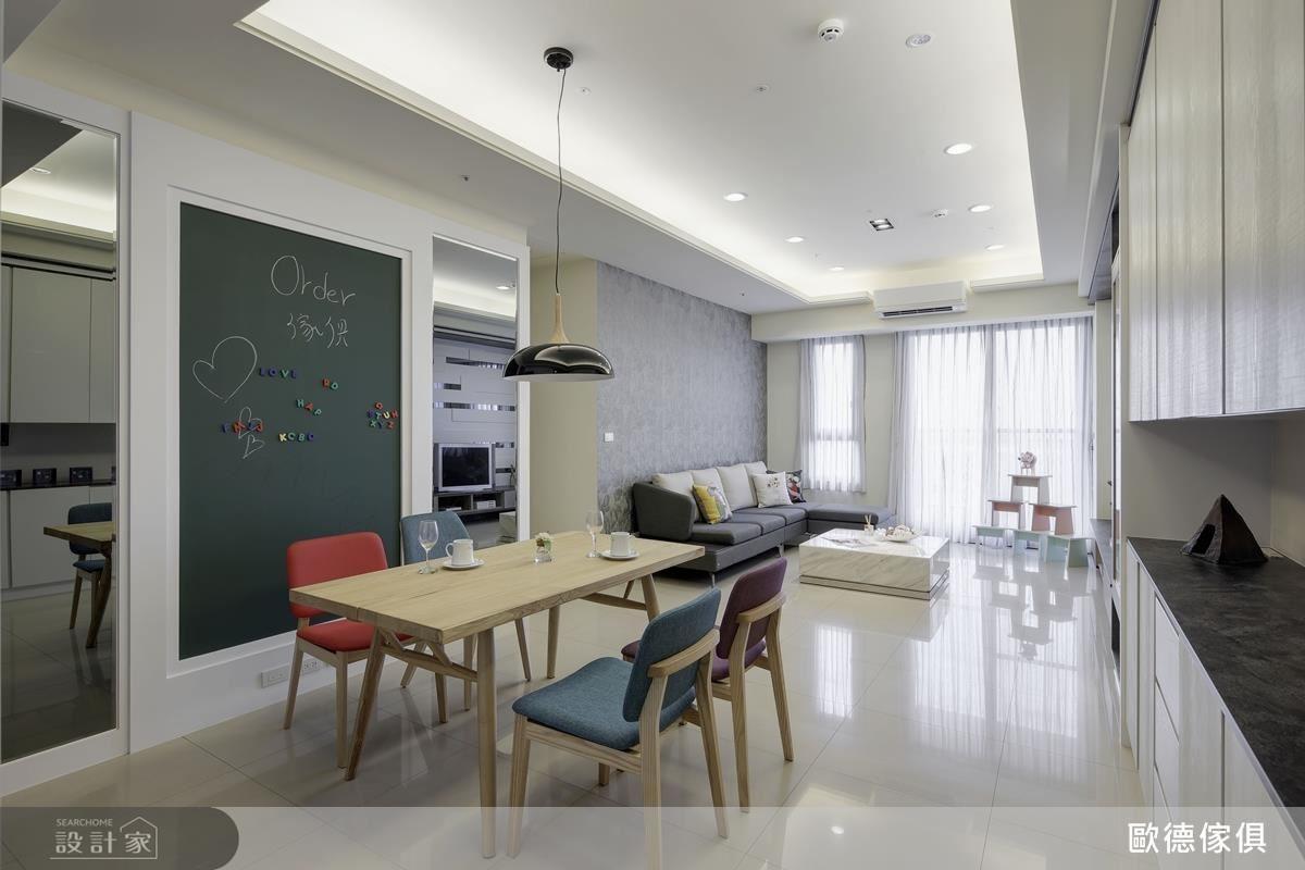 歐德板材不僅獲得綠建材標章,低甲醛無臭味,豐富多樣的選擇,翻轉過去一般人對系統家具的刻板印象。