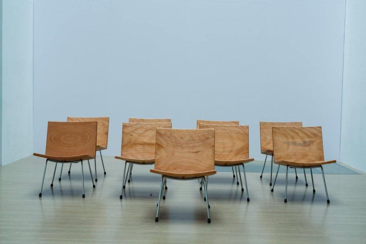 玉東國中木工班全體學生共同創作的作品之一。