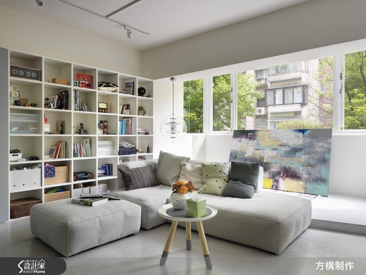 採用低檯度家具、注重多功能設計,連增設臥榻、木地板拼法都和客聽放大有關,快來看看是怎麼做到的吧!