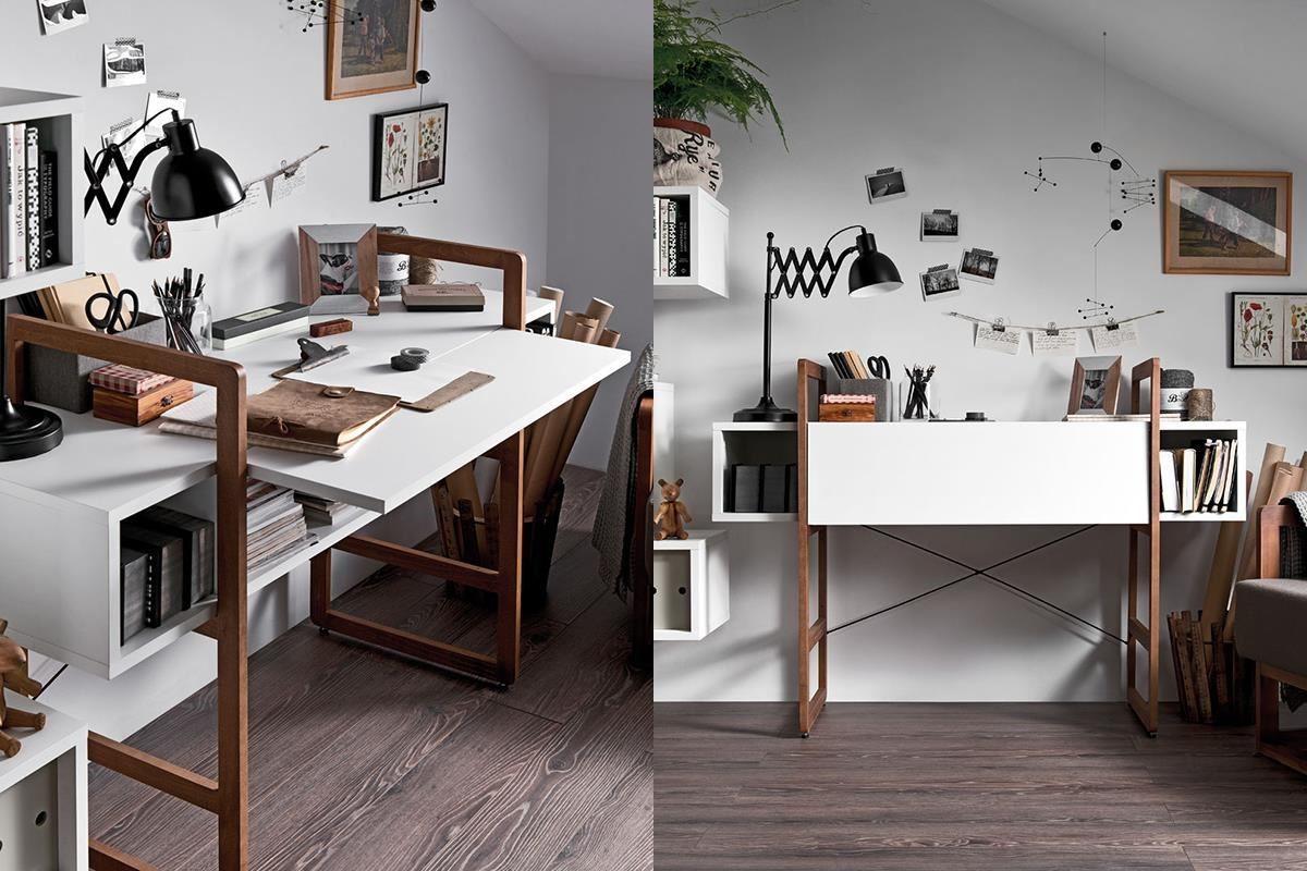 洋溢現代主義精神的 MIO 系列深受喜愛,桌邊櫃可以將櫃門掀起固定,精巧寫字檯與端景邊櫃兩種機能一次擁有。
