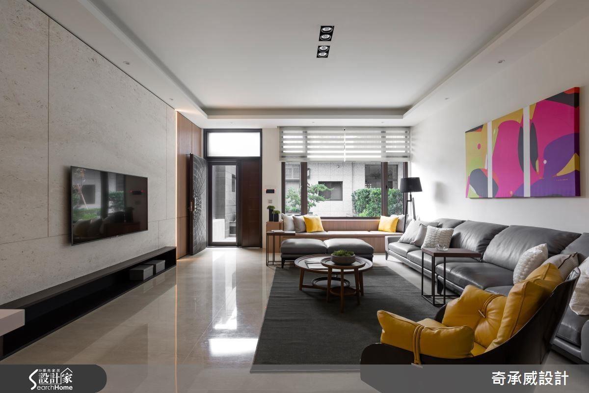 擅用色彩元素與家飾點綴,活絡空間氛圍。