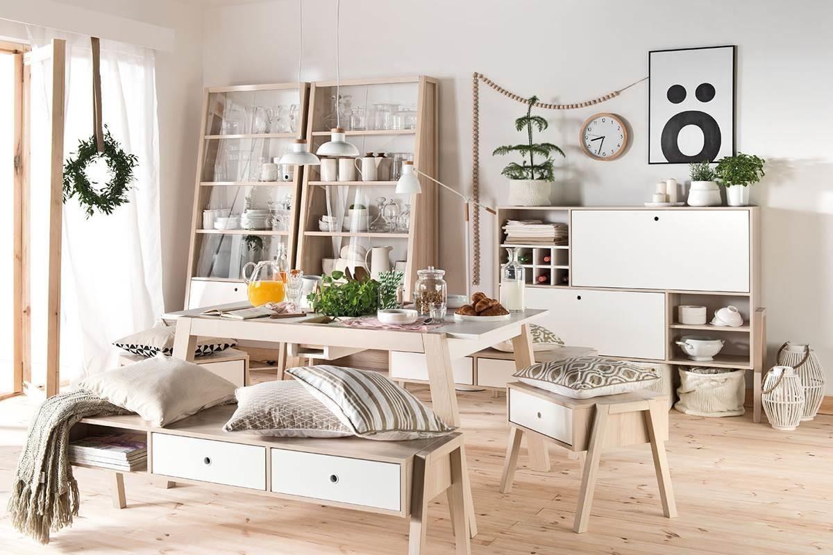 清爽明亮的白色做為空間基底,讓大面積的自然採光進入室內,照亮SPOT系列細緻的木紋理與風格家飾,更顯家的風雅品味與溫馨氛圍。
