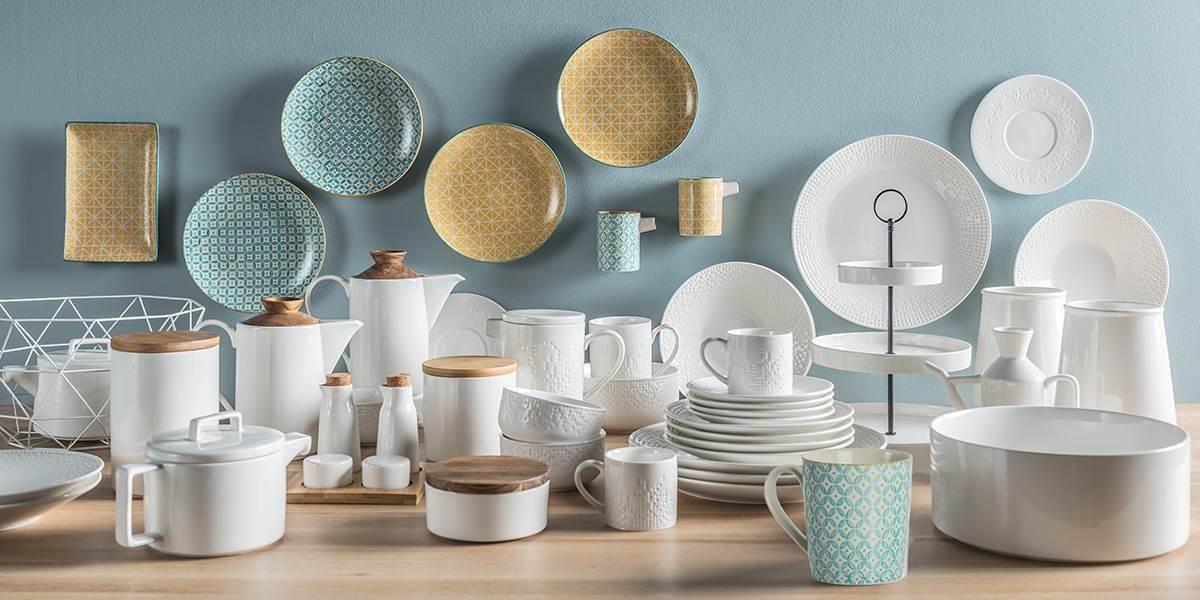 色彩素雅的 VOX 波蘭陶瓷餐具,除了好洗耐用的特性外,花色十分討喜,可進微波爐、洗碗機的實用性,也是大家愛不釋手的原因。