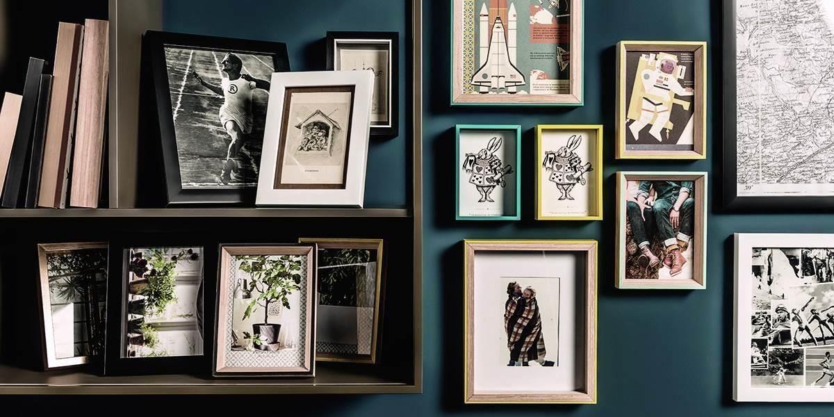相框含可掛牆的掛勾設計,單調的牆面瞬間成為理想畫布。