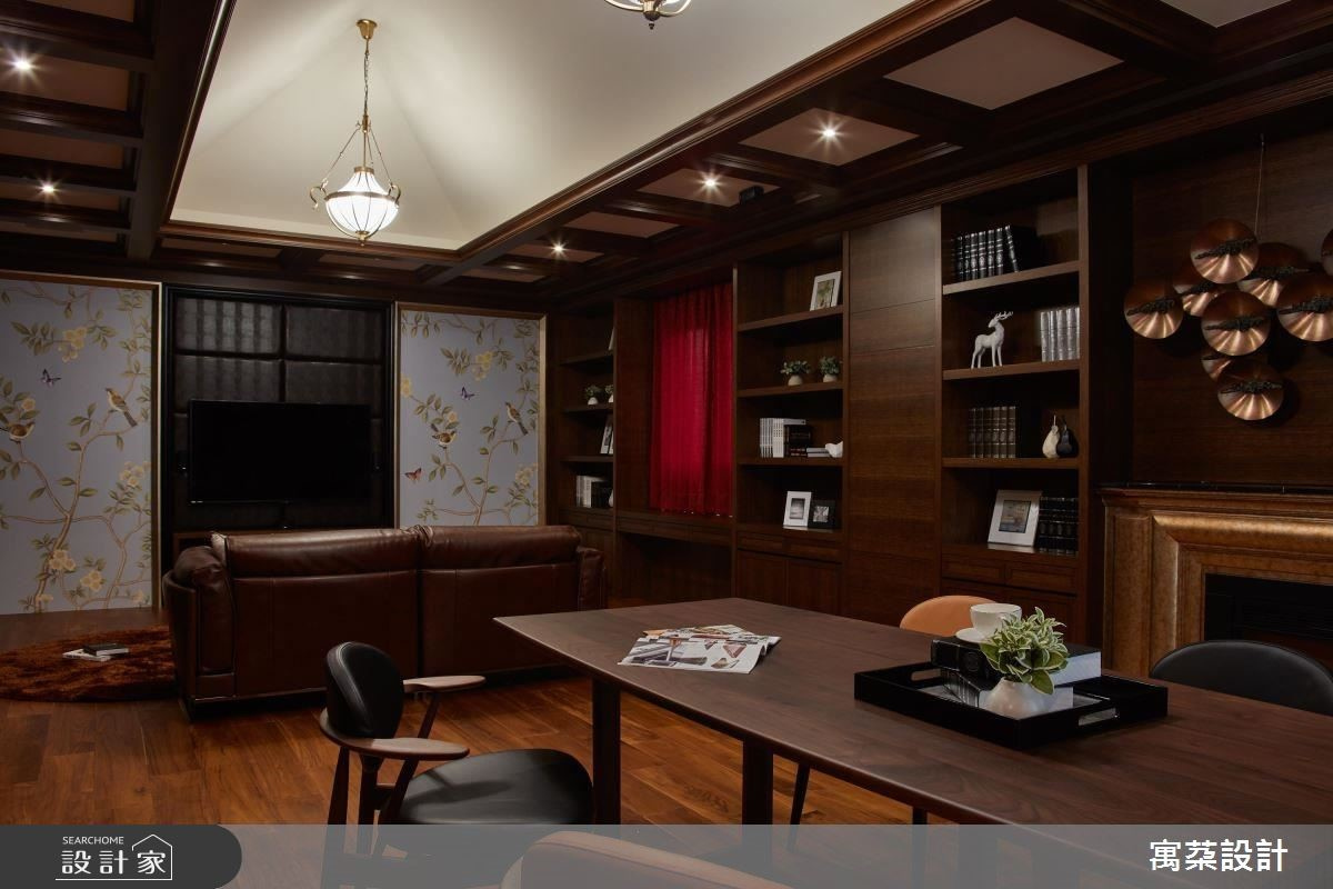 私人娛樂室兼具談話區與視聽機能,具備豐富用途。
