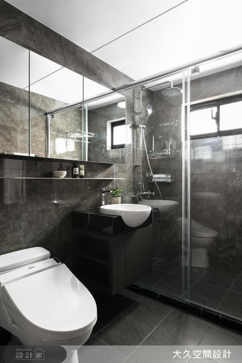 精品般的衛浴。
