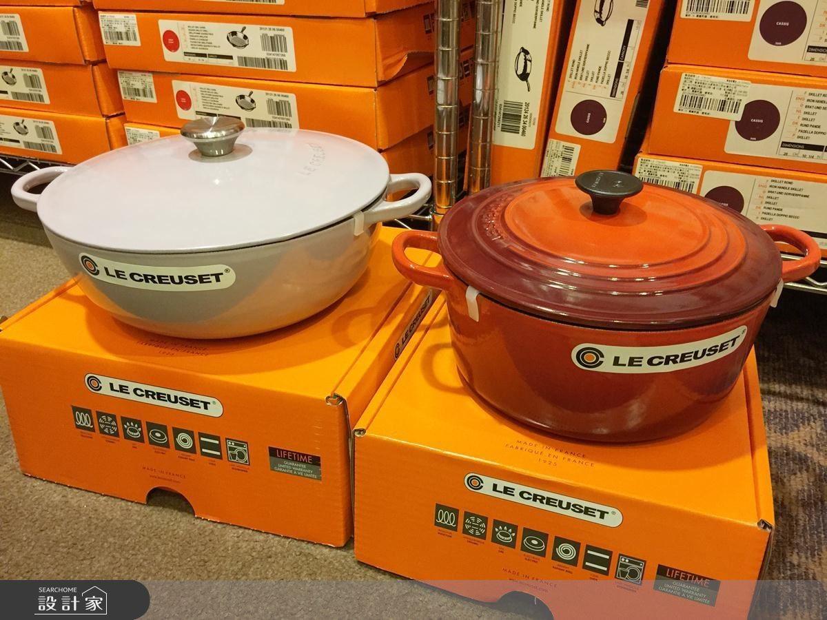 左邊是媽咪鍋;右邊是圓鍋