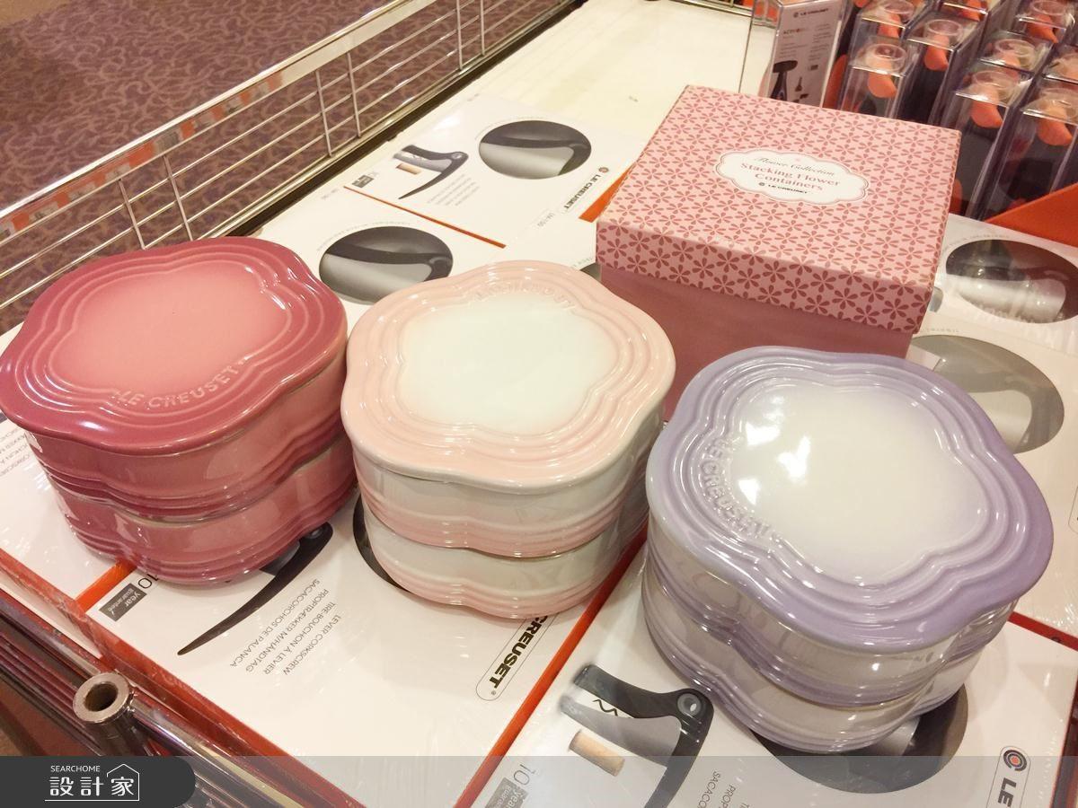 小提醒:此特賣會沒有販售花型收納罐淡粉紅色喔!