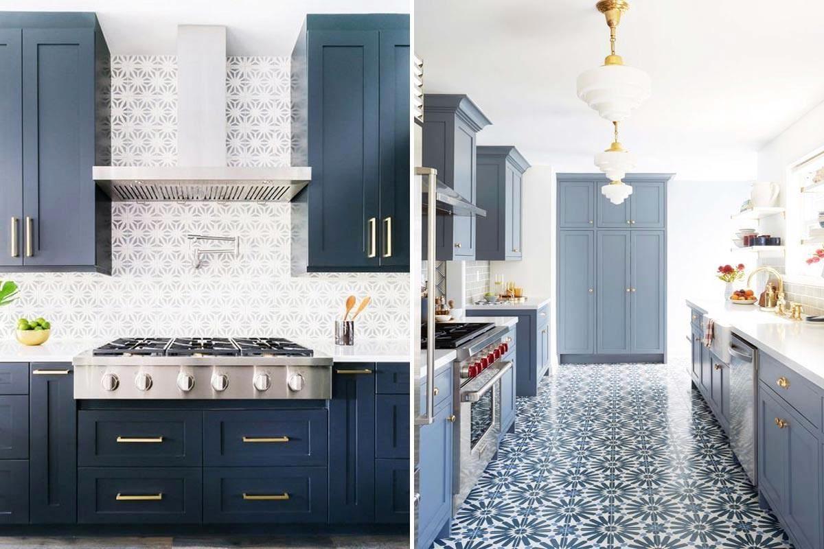 點選看多達 50 款藍色廚房>>