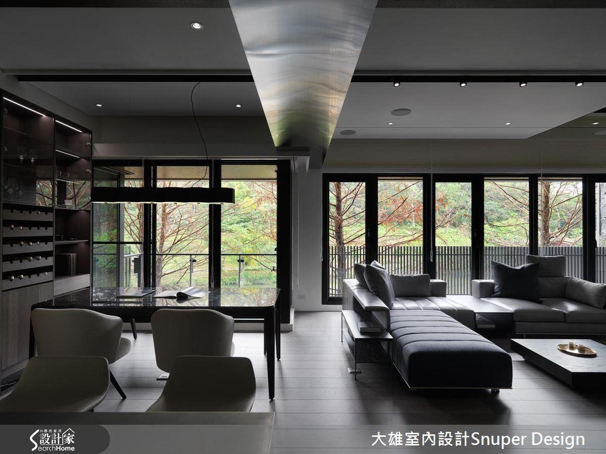 延伸自然綠意進入室內,成為最無價的裝修。