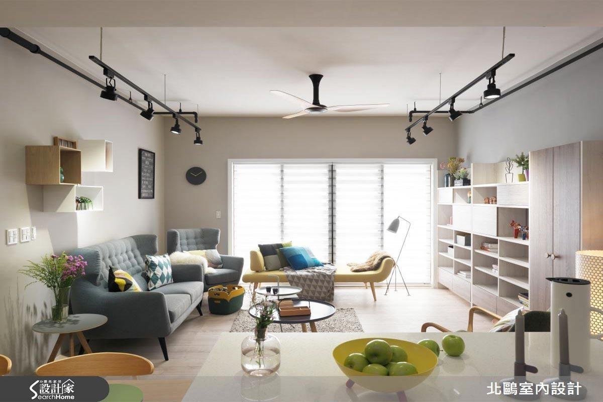 點選看更多客廳案例圖片>>