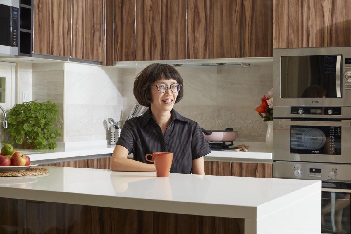 櫻花廚藝生活館岡燕店劉家琪店經理,與我們分享這次的設計靈感。