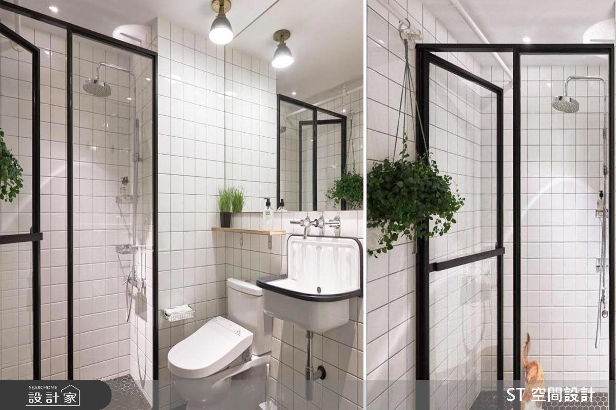 小套房通常開窗很少,浴室更容易成為被犧牲的空間,如何讓無窗浴室不再陰暗潮濕?看完整無窗解法>> 點此看圖庫