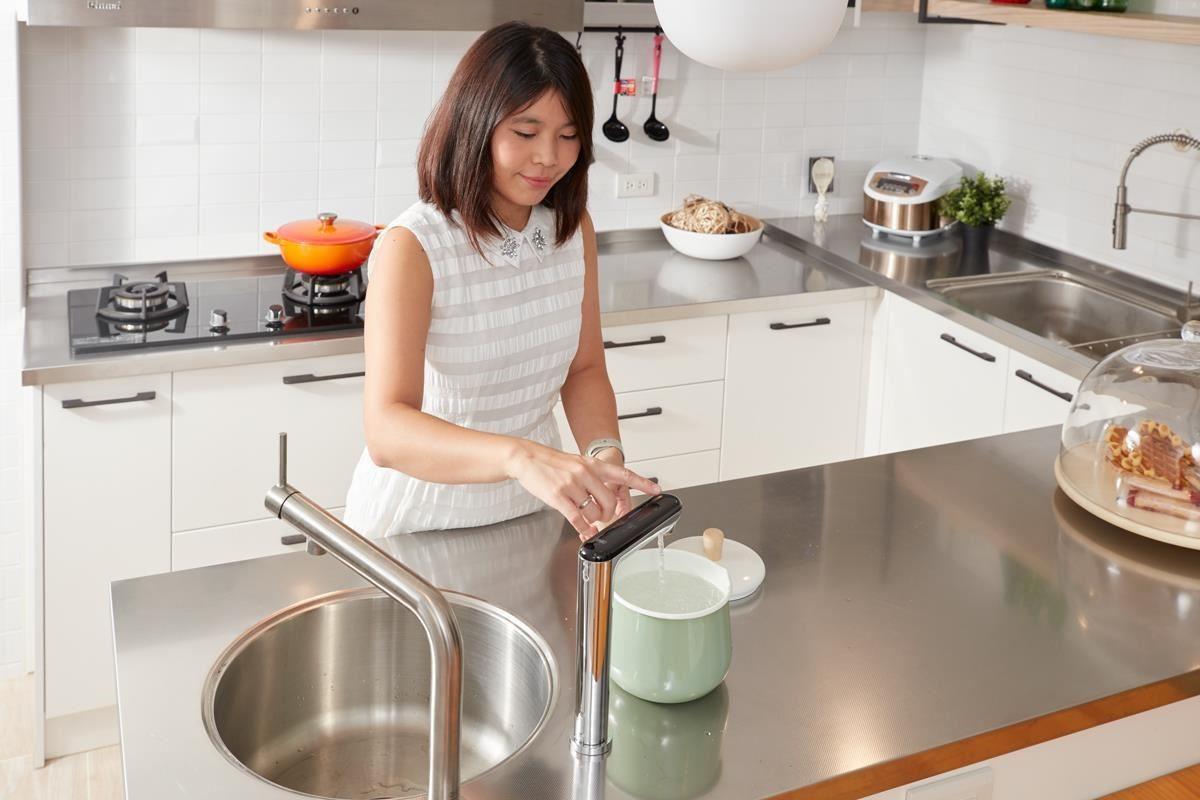 料理前不再需要等待鍋內水沸騰,直接可以取用熱水,相當便利!