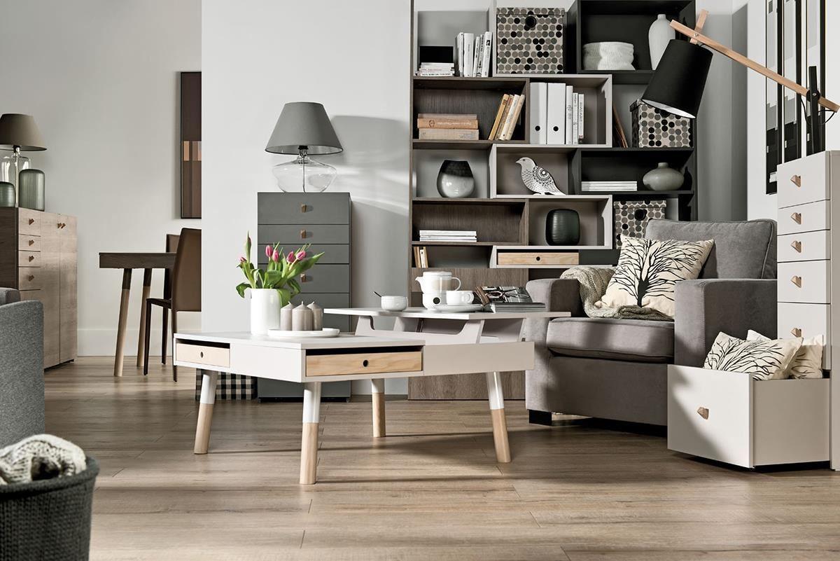 LORI 全系列以大地色為主,如人氣單品咖啡桌(茶几)就採用米褐色搭配圓腳桌腳,輕盈外型與實用機能正是它受歡迎的理由。