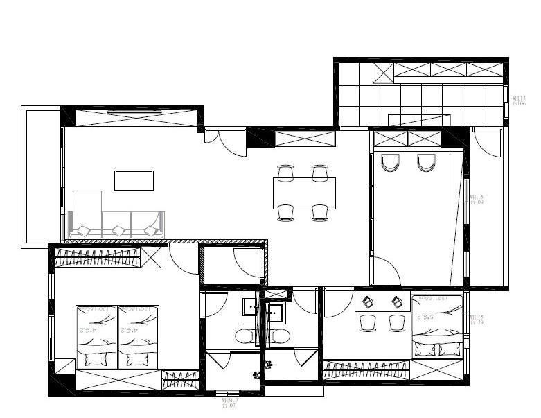 平面圖提供_浩室空間設計。
