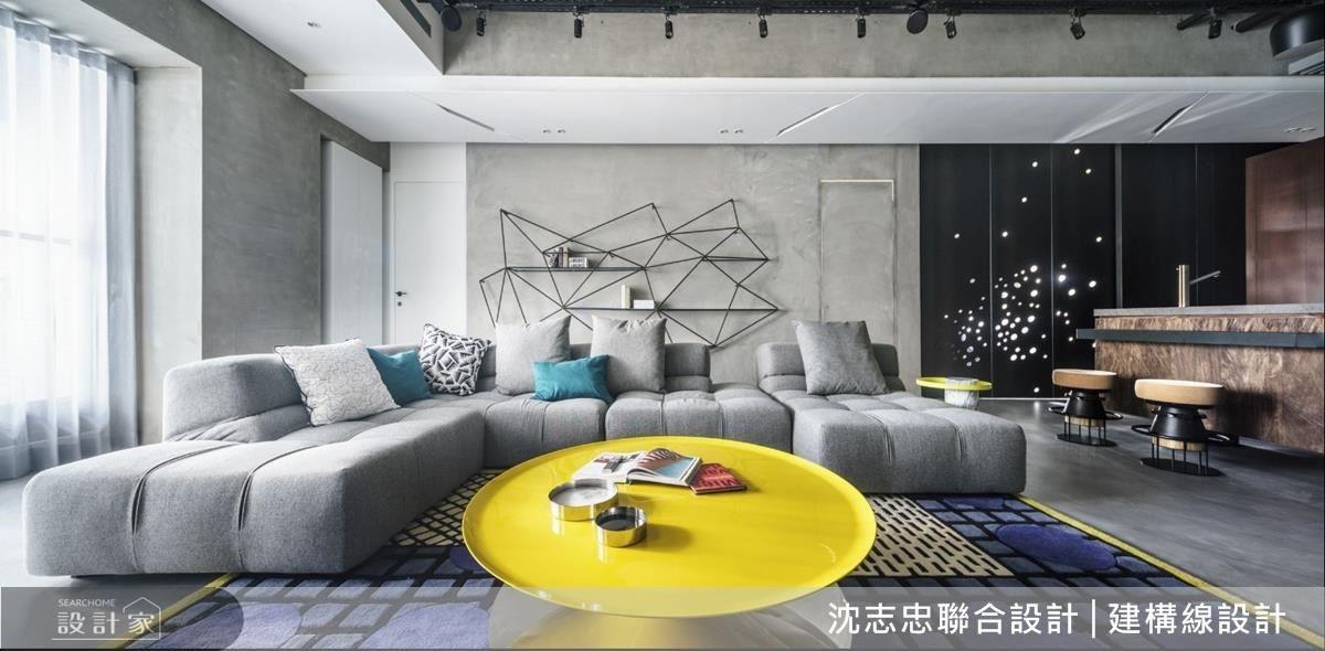 突破既有材質與量體想法,建構出藝術般的居家面貌。