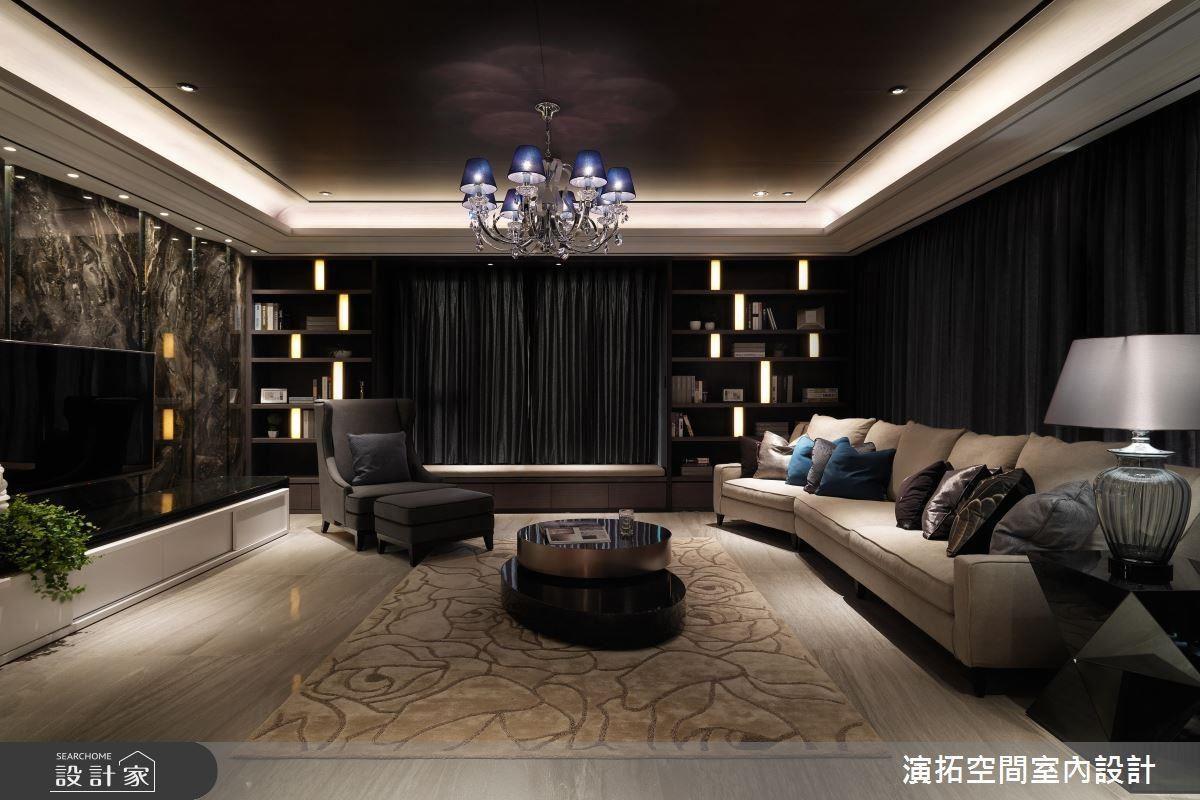 細膩燈光安排,為空間注入活絡的生命力。