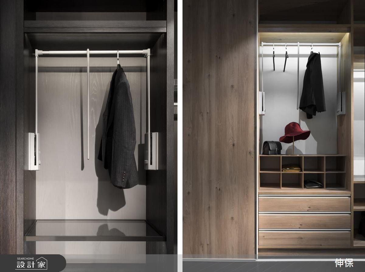 伸保專屬訂製家具,依照消費者的生活使用習慣與需求,細節化設計。