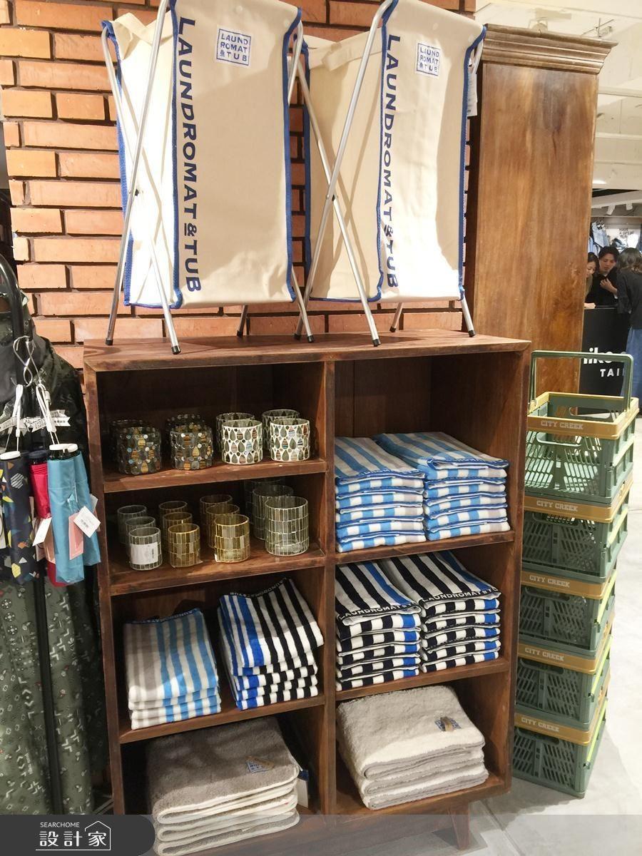 毛巾也與 UCHINO 合作,材質為 100% 純棉,觸感柔軟,價位約為NT.620