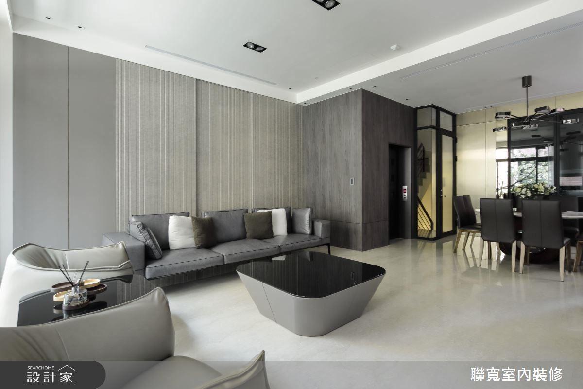 溫潤大地色系安排,創造舒適休憩宅。