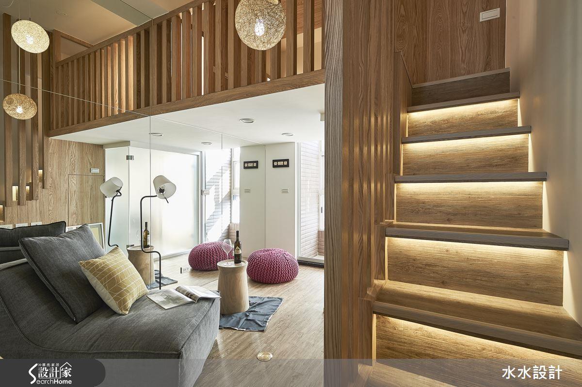 格柵是營造日式風格最好的方式之一,無論是應用在玄關屏風、樓梯柵欄或取代實牆,都相當實用。看完整格柵設計 >> 點此看圖庫