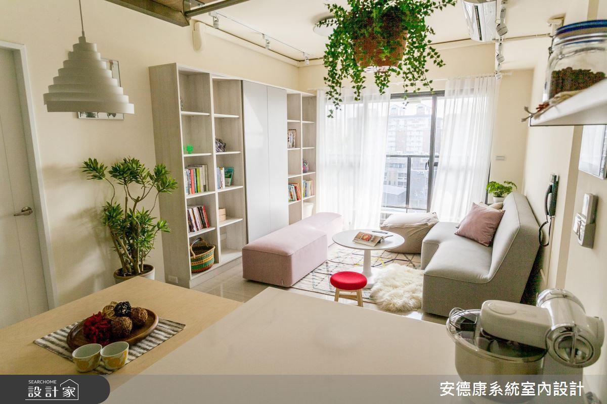 日式居宅少笨重或過度精緻的家具、櫃體,採用可隨時移動的輕質家具,搭配耐乾的常綠盆栽,就能創造休閒優雅的場景。看完整植栽佈置 >> 點此看圖庫