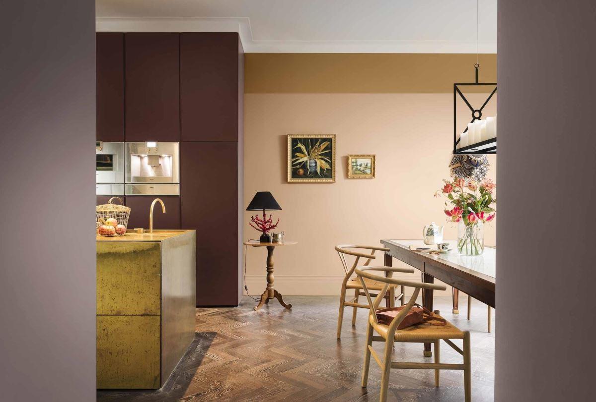「暖心仁厚」的舒適愜意之家,注重細節的搭配,善用空間規畫凸顯木質色的溫暖