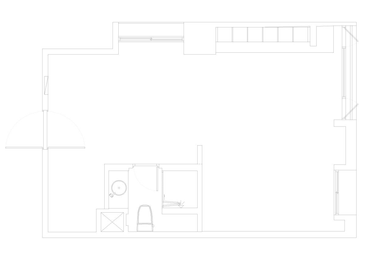 BEFORE 平面圖提供_將作空間設計。