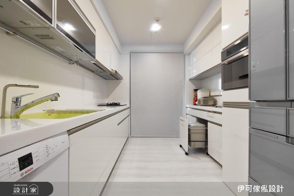 柯以柔的完整廚房設計看這裡>> 不只動線規劃巧思,連廚具、設備品牌都完整提供!