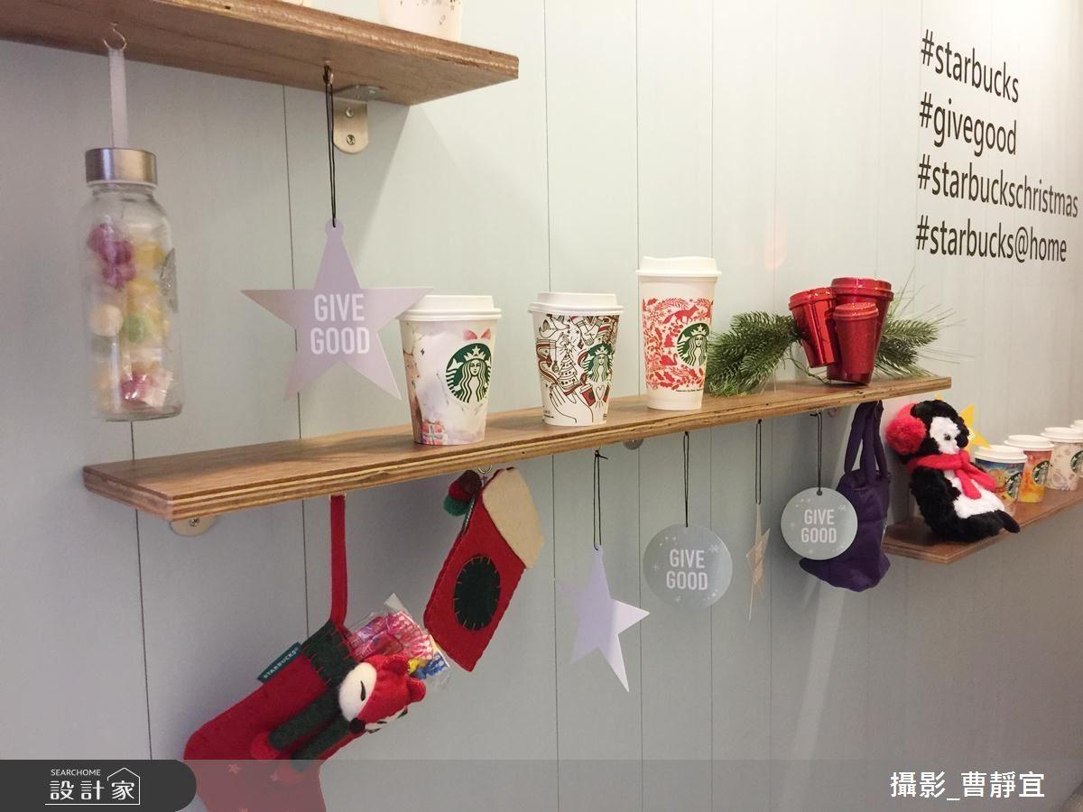 有別於以往的紅色節慶杯,今年推出手繪畫布概念的杯子,讓消費可自行揮灑紀錄下屬於自己的「GIVE GOOD傳遞美好」故事。