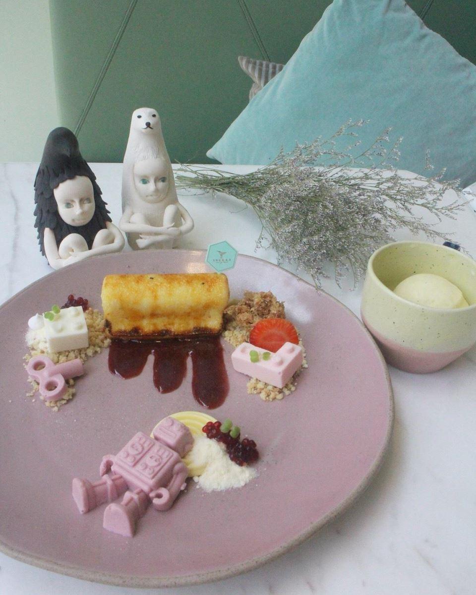 「Once a KID」甜點,運用分子料理的手法,讓每一口都是驚艷!