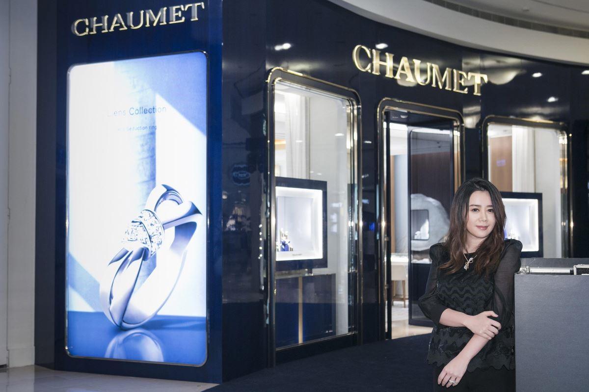 設計家網站請到江欣宜設計師,為我們以專業的角度導覽 Chaumet 台北 101 全新概念專賣店。攝影_Mark Lee