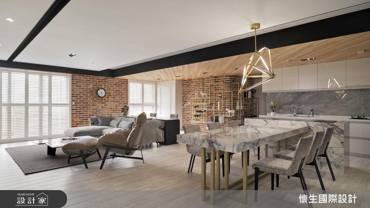 前衛的設計思維打造出令人細細品味的個性休閒宅。