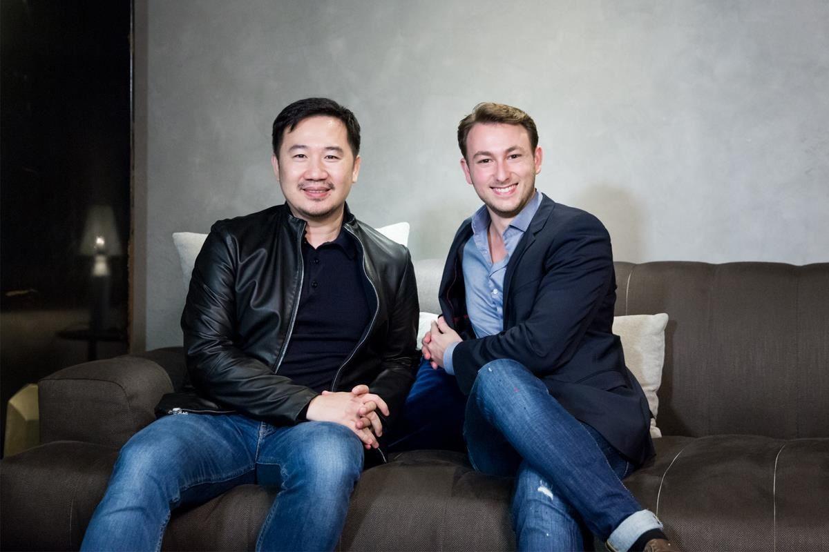 沈志忠聯合設計沈志忠總監(左) & Papadatos 外銷經理 George Papadatos(右)。