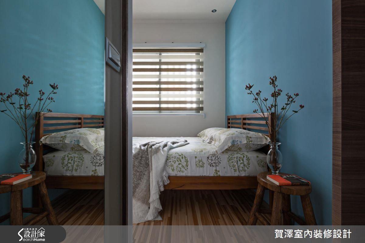 連通式臥房設計,串聯彼此空間,增進家人互動與交流。