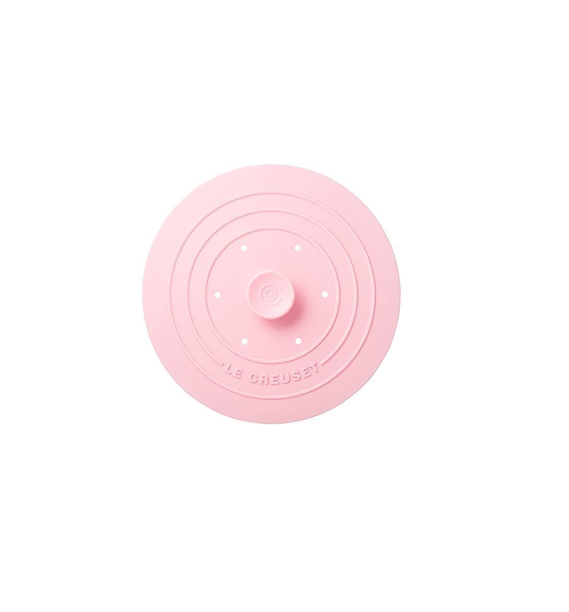 滿額贈_耐熱矽膠多功能圓型鍋蓋(淡粉紅)