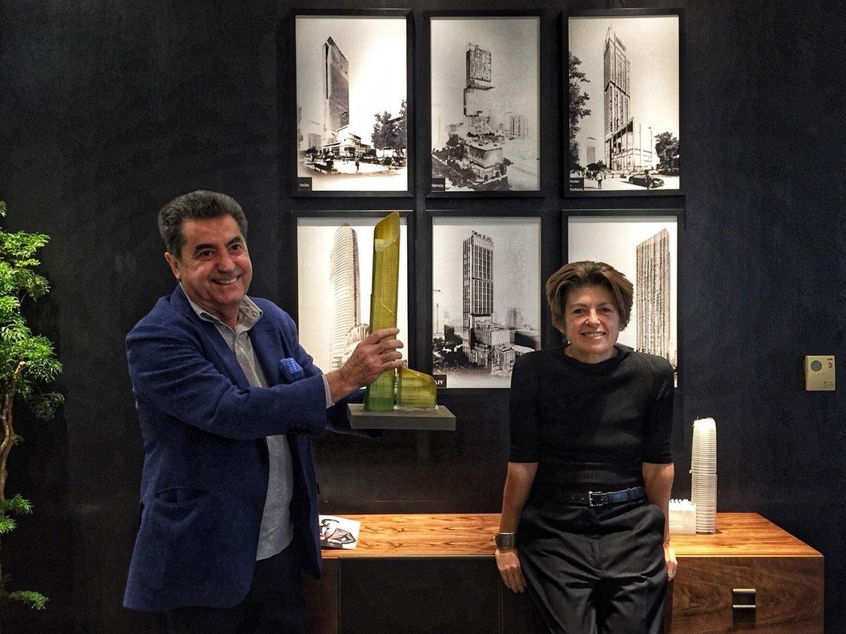 Antonio Citterio與Patricia Viel接受設計家網站的採訪。