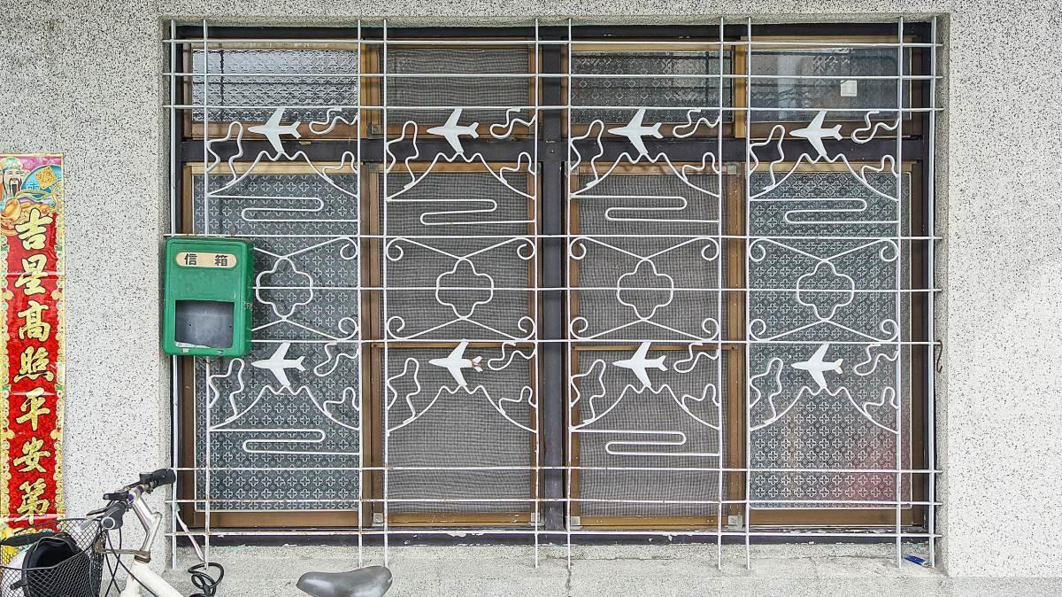 精湛鐵窗花工藝,道出老屋一段段精彩故事。