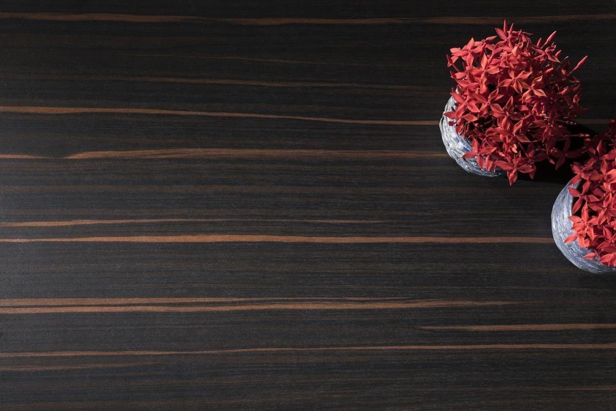 黑色基調搭配橘紅色紋理,俐落的線條分布,產生強烈反差感,營造出熱情且時尚沉穩的氛圍,紅黑相間,凸顯時尚精神,創造出動人的色彩魅力。