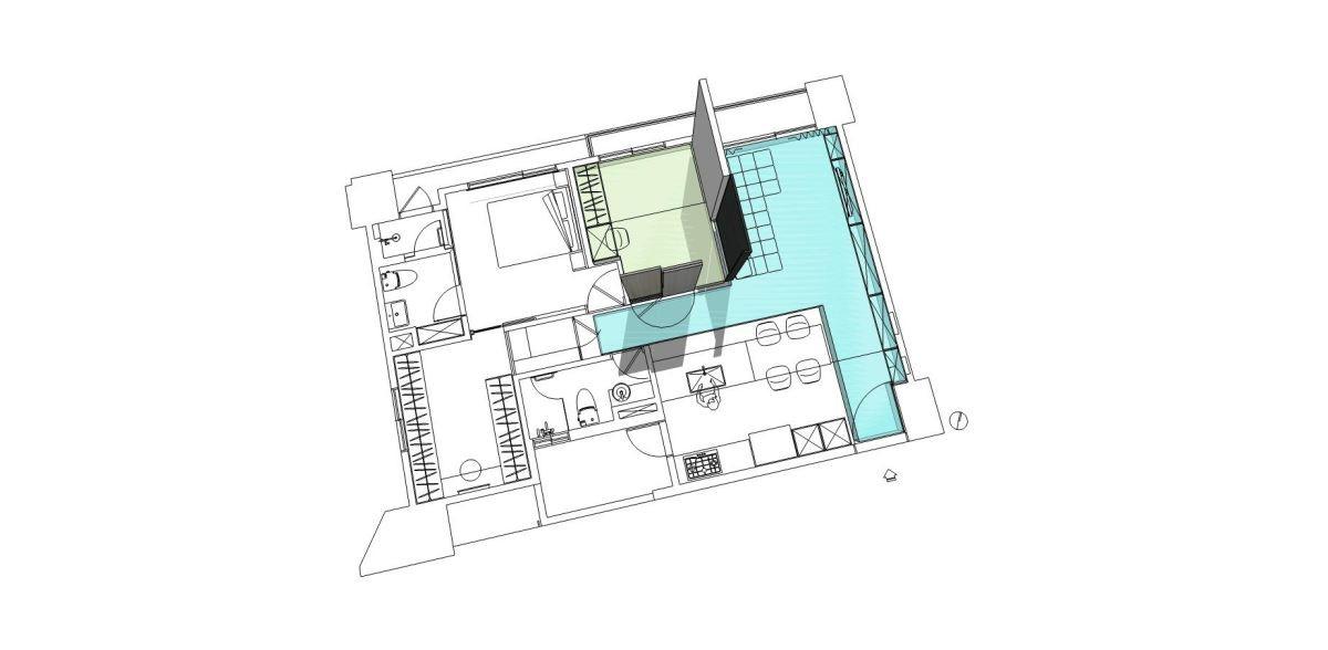 平面圖提供_禾光室內裝修設計。