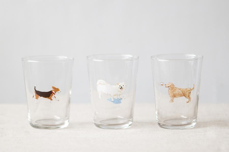 Vita Yang與小器生活合作的玻璃杯。