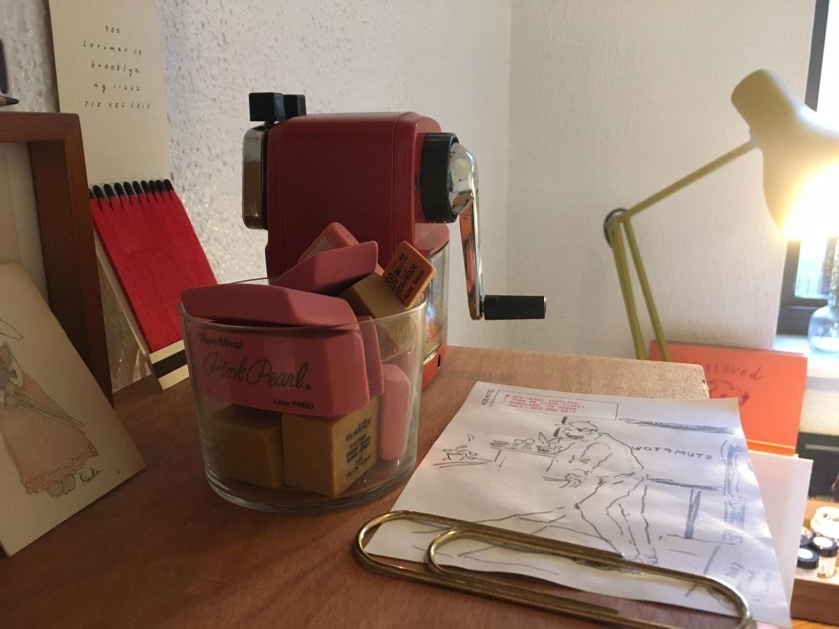 Vita Yang蒐集的橡皮擦系列。
